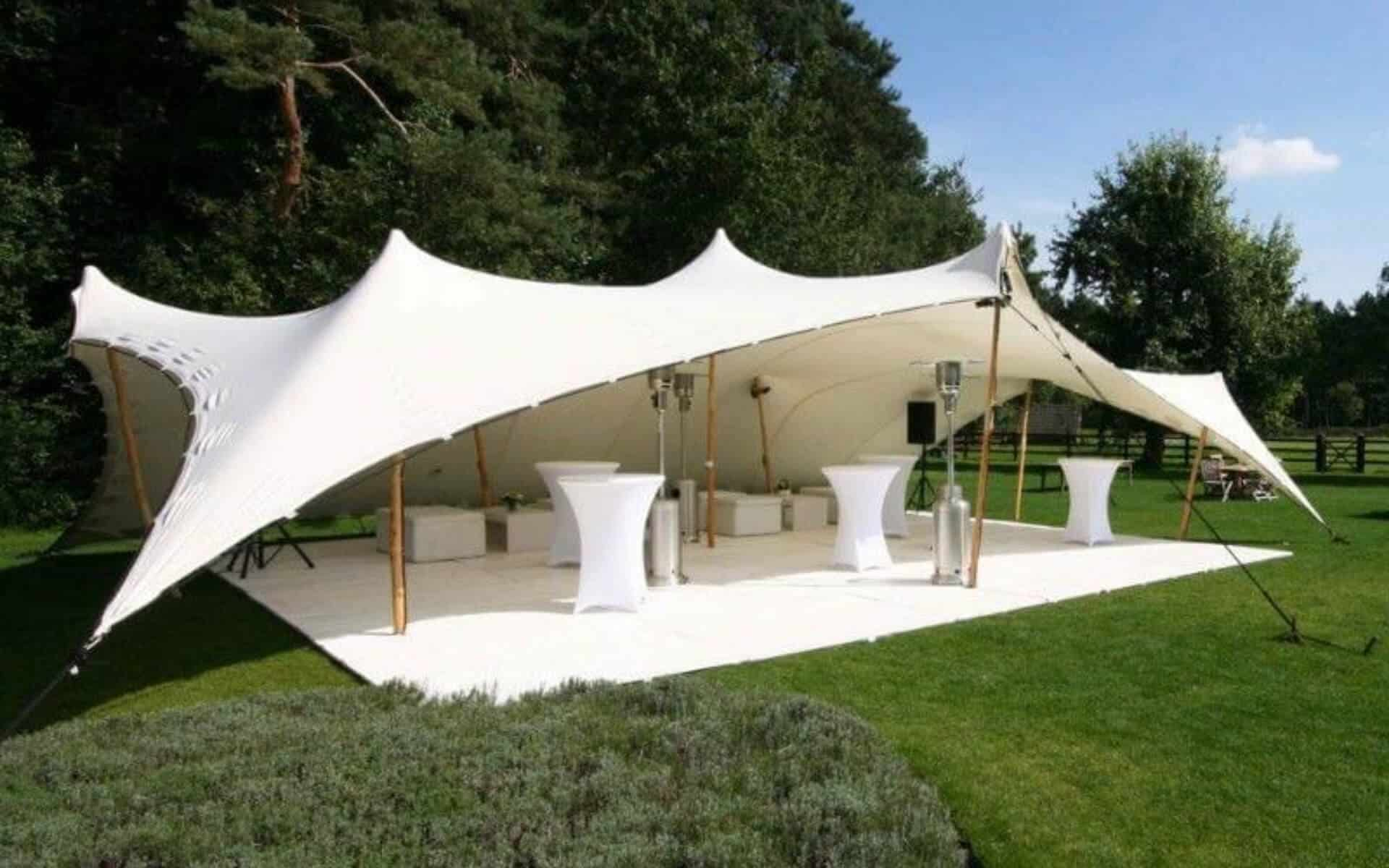 Stretch Tent in park
